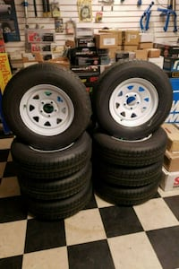 Castle Rock ST trailer tires 205 75 14 Tampa, 33604