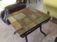 2 slate top end tables Wauwatosa, 53225
