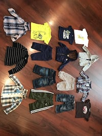 Baby boy clothing (3-6m size) various brands Langley, V2Y 0C6