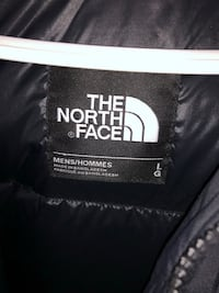 Black North Face Jacket Size Large  Toronto, M1G 1Z2