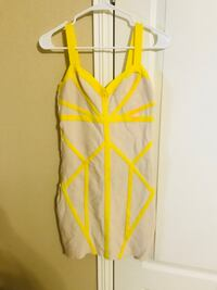 women's yellow and pink spaghetti strap top McAllen, 78501