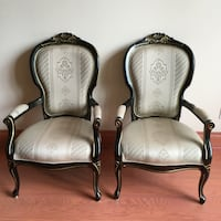 Antique Looking Wood Chairs  Caledon