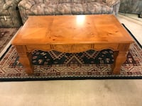 rectangular brown wooden coffee table Fort Lauderdale, 33308