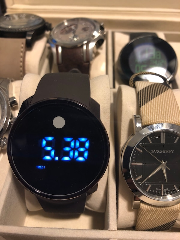 Movado Bold Digital Watch