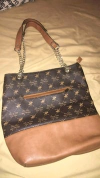 brown Beverly hills polo club tote bag 737 km