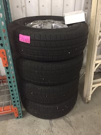 Set of four auto tire s