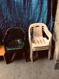 Plastic long chair