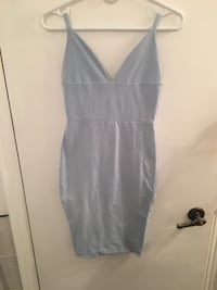 bodycon dress baby blue Laval, H7M