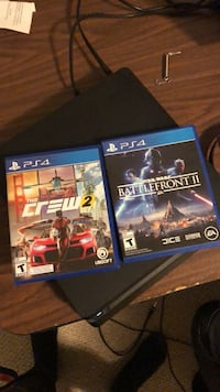 The crew 2 and Star Wars battlefront 2 Kitchener, N2E 3W1
