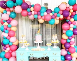 Balloon Garlands any color/size