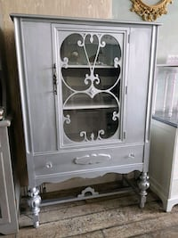 white wooden cabinet with mirror Mississauga, L5G 3N8