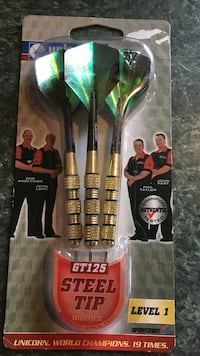 Three pack steel tip Darts - NEW Manchester, 03104