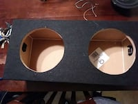 black subwoofer enclosure Richmond, 23227