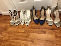 4 pair of shoes all from Zara Fairfax, 22033