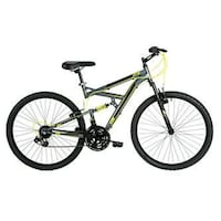 green and black full suspension mountain bike San Diego, 92104