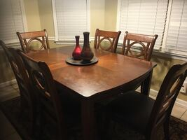 Dining table set 6 chairs Ashley