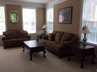Living room set - couch, love seat and tables Mint Hill, 28227