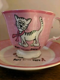 Tea Cup for Breast Cancer Cure Cambridge, N1S 4W9