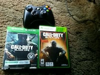 black Xbox 360 game console with controller and ga Pierre, 57501