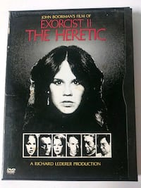 The Exorcist 2 the Heretic dvd