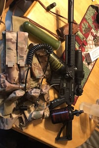 Paintball equipment for sale!! Need gone ASAP! Used once on field.