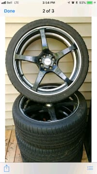 4x100 4x114 rims and tires Coquitlam, V3K 2X6