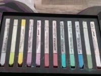 compressed art pastels, or Nu Pastel, about 50 peices.. many colors..  San Francisco, 94102