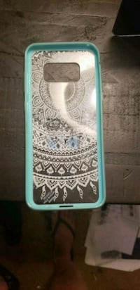white and teal iPhone case El Mirage, 85335
