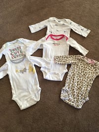 3 month old baby girl lot