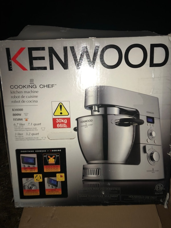 Kenwood The Kenwood Cooking Chef 7 Qt Kitchen Machine With Induction Cooking