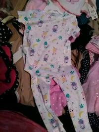 Baby girl new Carters 18 month pajames Endicott, 13760