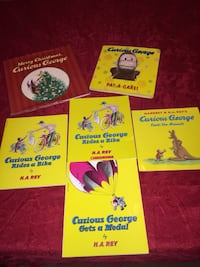 CURIOUS GEORGE COLLECTION +BONUS BIG BOOKS Jacksonville, 32257