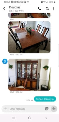 brown wooden dining table set Virginia Beach, 23464