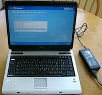 """Toshiba 15"""" Laptop with Carrying Case Toronto, M6H 3W3"""