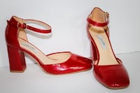 Woman shoes red Kitchener, N2H 2H5