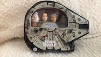 Star Wars pez dispensers in collectible Millennium Falcon gift  tin Clive, 50325