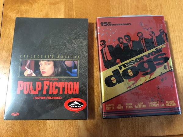 2 collector's editions DVDS