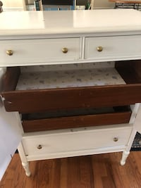 White and brown wooden dresser Mount Airy, 21771