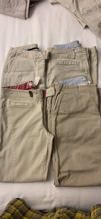 Four pairs of Tommy Hilfiger Pants Size 8 Virginia Beach, 23456