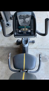 """Gold""""s Gym exercise cycle"""