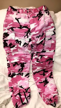 pink and white camouflage pants Winnipeg, R2L 0R1