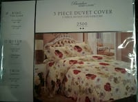 Bamboo home luxury 3 piece duvet cover