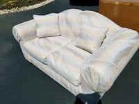 white fabric 3-seat sofa Forest Hill, 21050