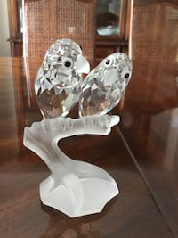 "Swarovski Annual Edition 1987 ""Togetherness"" - the Lovebirds Coquitlam, V3B 6X6"