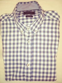 Camisa cuadros Zara Man Slim fit talla S Madrid, 28006