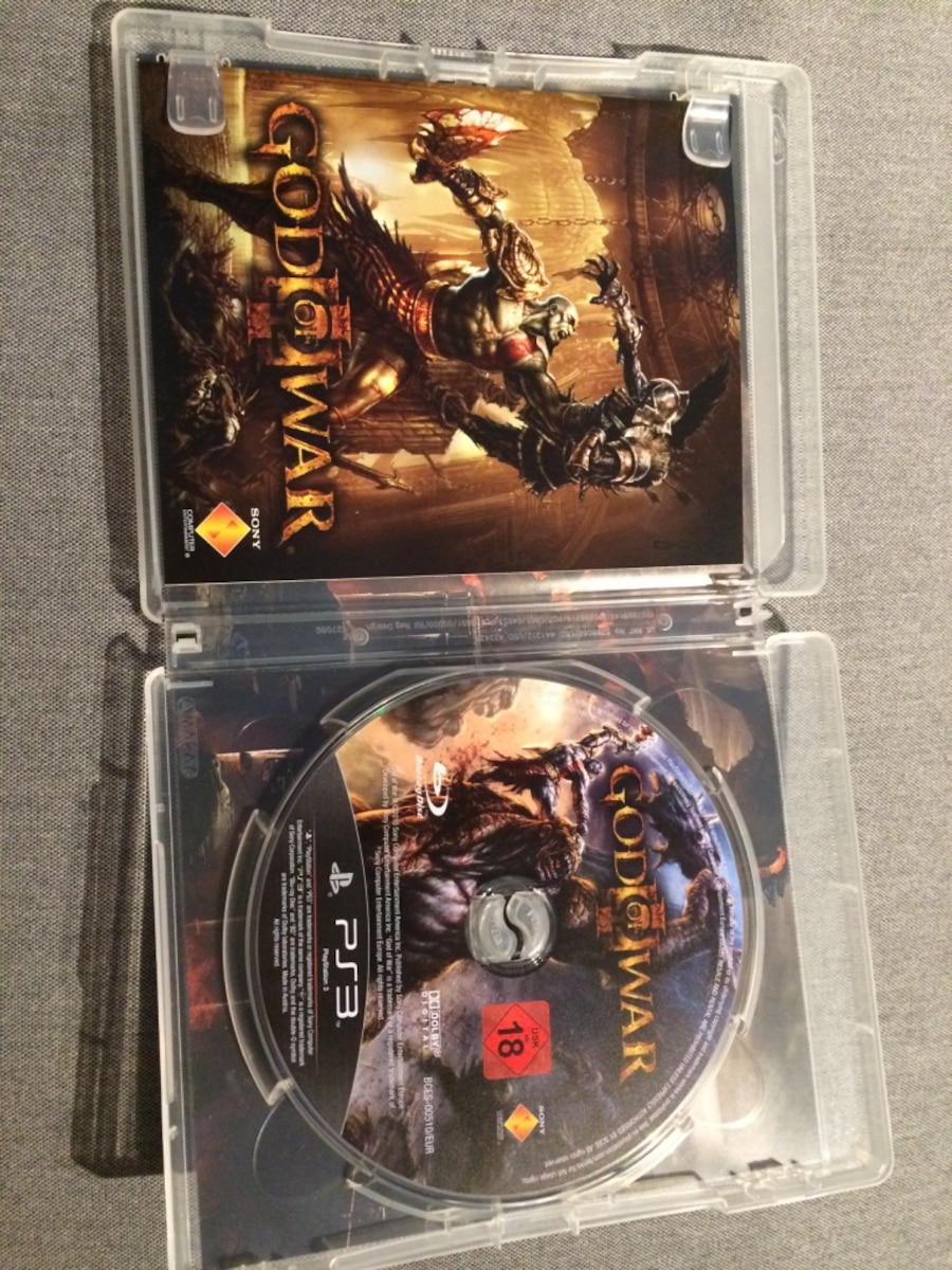 God of War 3 PS3 spill tilfelle - Bergen