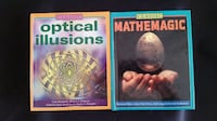 2 Just like new Illusion/magic books $3.00 each or $5.00 if bought together Manassas