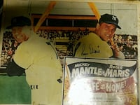 Mickey Mantle and Roger Maris picture  Greensboro