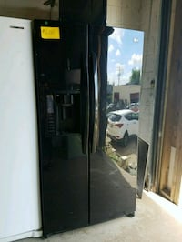 LG side by side doors fridge working perfectly  Baltimore, 21223