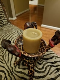 Giraffe/Elephant candle holder